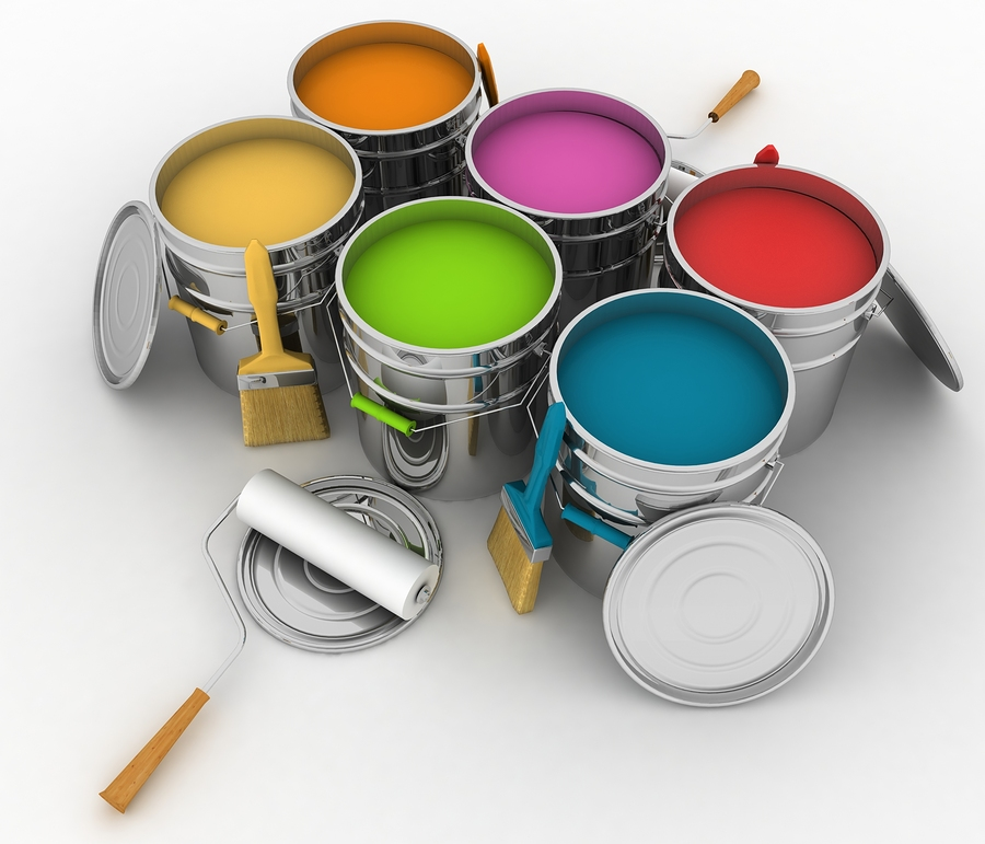Latex Paint Brush